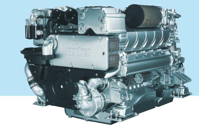 MTU 16V 2000 M72 for sale,MTU's Series 2000 Common Rail engines