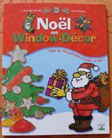 Bricolage Noël – décor de fenêtre pour enfants : technique du Window Decor