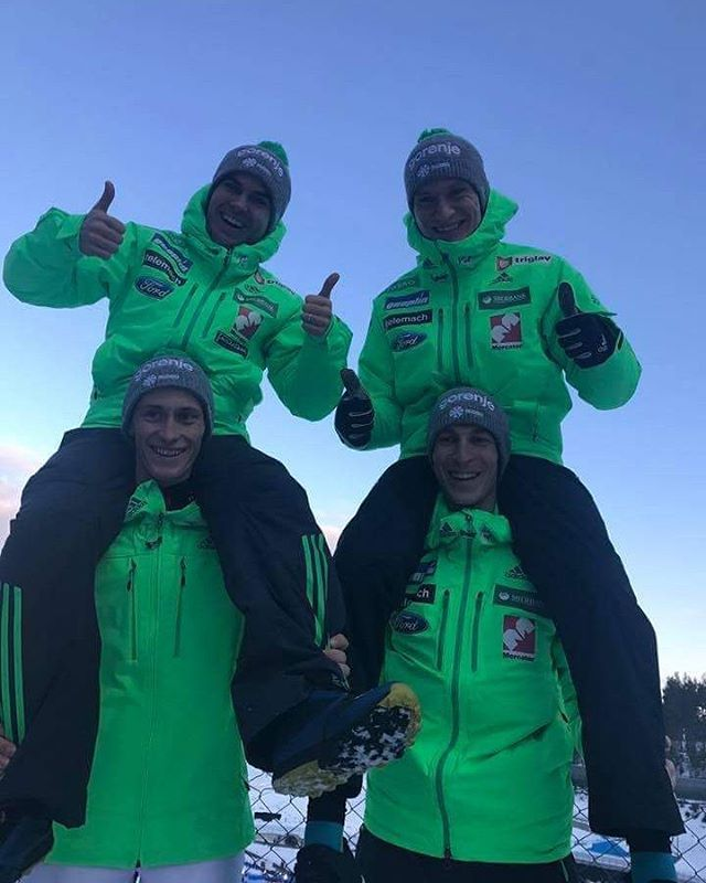 "1,019 Likes, 3 Comments - Peter, Domen, Cene (@prevc_brothers) on Instagram: ""5th place yesterday in Lahti #teamcompetition"""