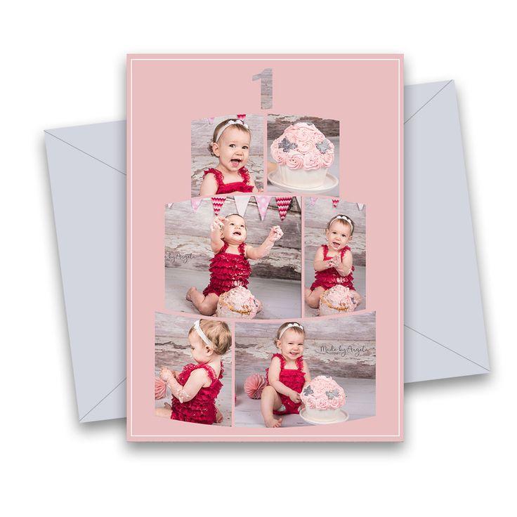 CAKESMASH KAART 6 Verjaardag-kaarten.(jongen en meisje) In de zwarte vakjes kunnen fotos worden geplaatst. De leeftijd kan ook gewijzigd worden. Dan kun je zelf ook misschien even lekker gaan kliederen. Leuk te vullen met bijvoorbeeld fotos van een cakesmash-shoot. Afm. kaart 5×7 inch. Volledig gelaagd Photoshop (PSD) bestand. Te gebruiken met o.a. Photoshop (Elements) en Paintshop pro.