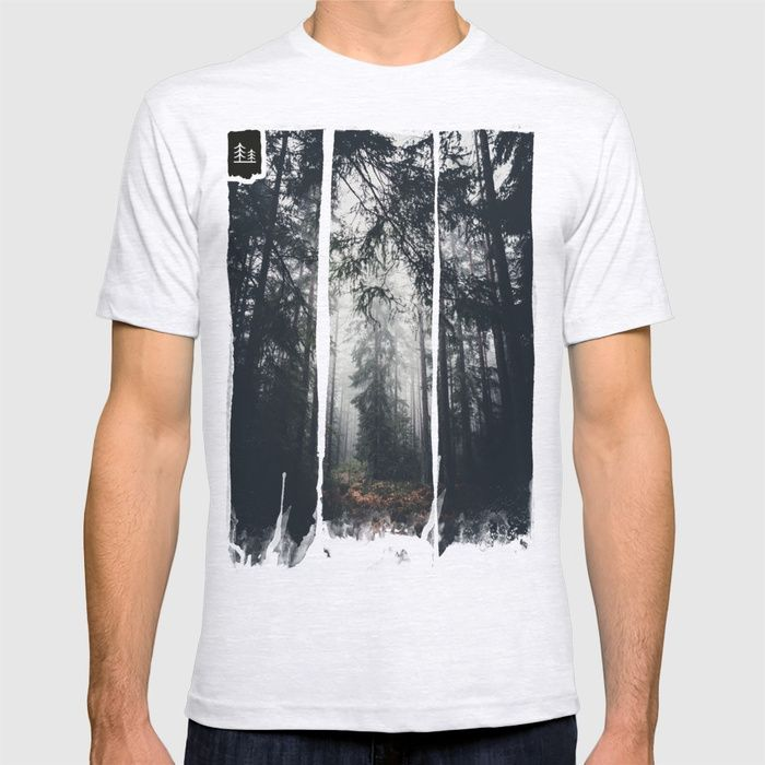 Dark paths T-shirt by HappyMelvin | Society6