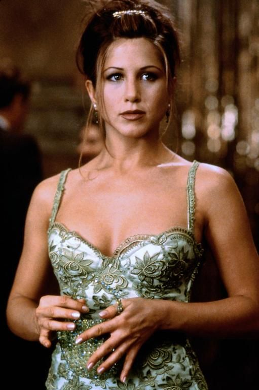 Jennifer Aniston- I don't know what movie this is from. It may be from Leprechaun.