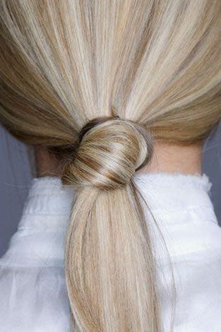 Love the knot- Hair