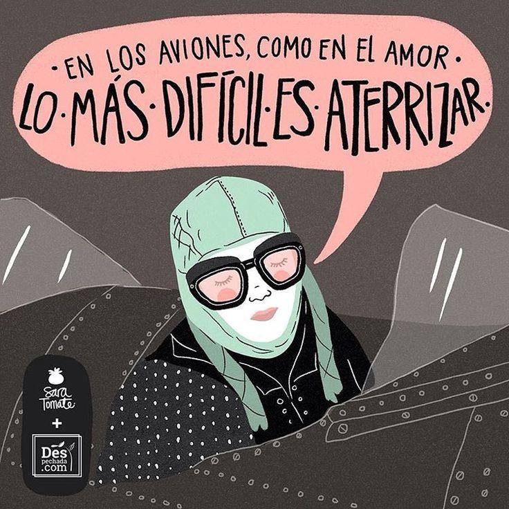 Como siempre, nuestra alegría los lunes es recibir una hermosa frase #despechada, ilustrada por @SaraTomate. Si te sientes identificada, comparte!! Y no te olvides de visitarnos en www.despechada.com