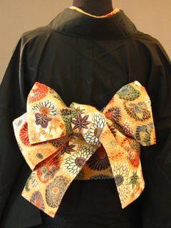 半巾帯の結び方 素敵な帯結び その5 ■胡蝶結び