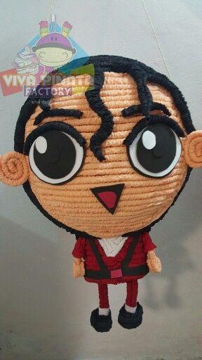Un tierno Michael Jackson... Recuerden que contamos con pasteles de Cupcakes para la fiesta de sus pequeños.