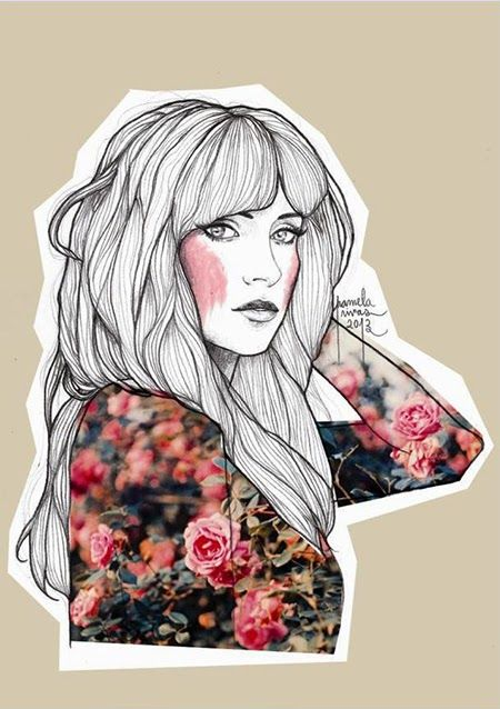 Área Visual - Blog de Arte y Diseño: Los dibujos e ilustraciones de Pamela Rivas