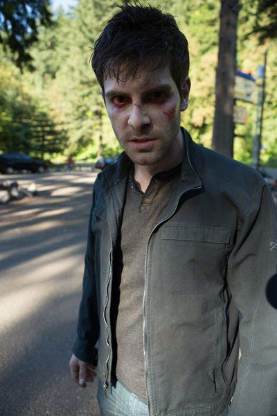 Nick - he's a zombie and not like the others>> He scared the crap out of me