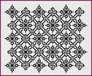 link to blackwork patterns and more... from Elizabethan Blackwork site!