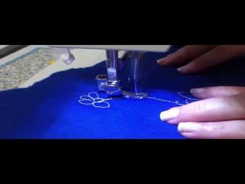 Quilt livre - Aula 5 - Silvia Souza - YouTube