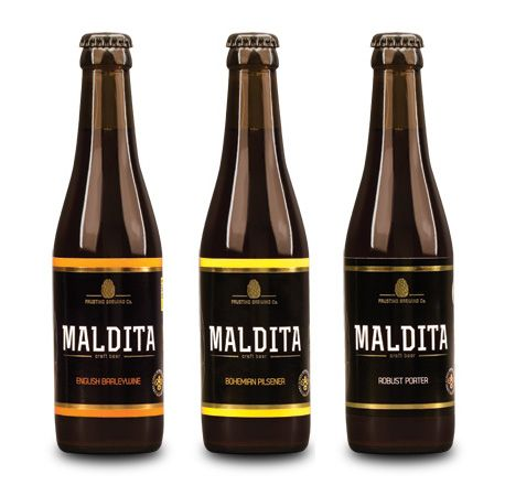 "Handcrafted beer ""Maldita"" Nominated and awarded Portuguese brew – 0,5l (3.92€/unit) - Terra do Bacalhau"