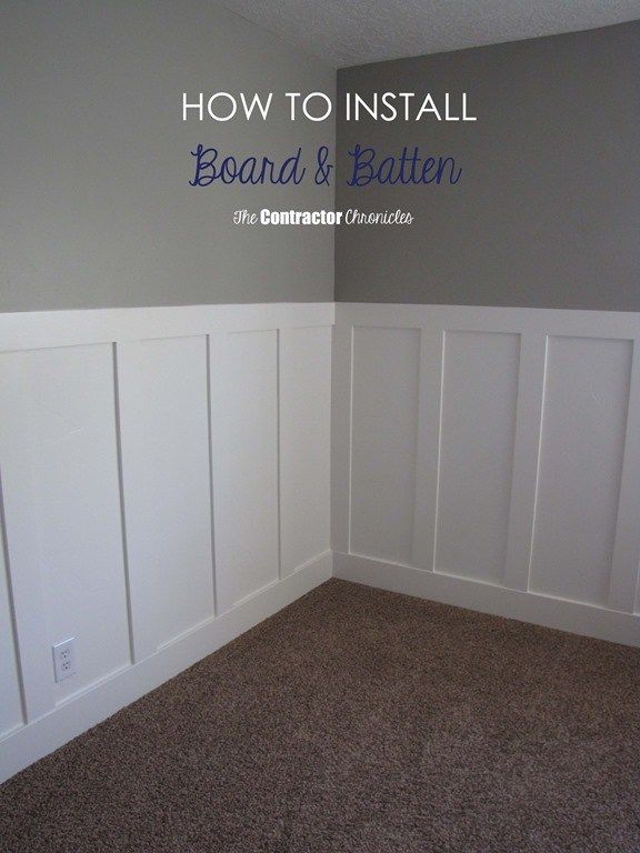 Craftsman Style Board and Batten using all MDF