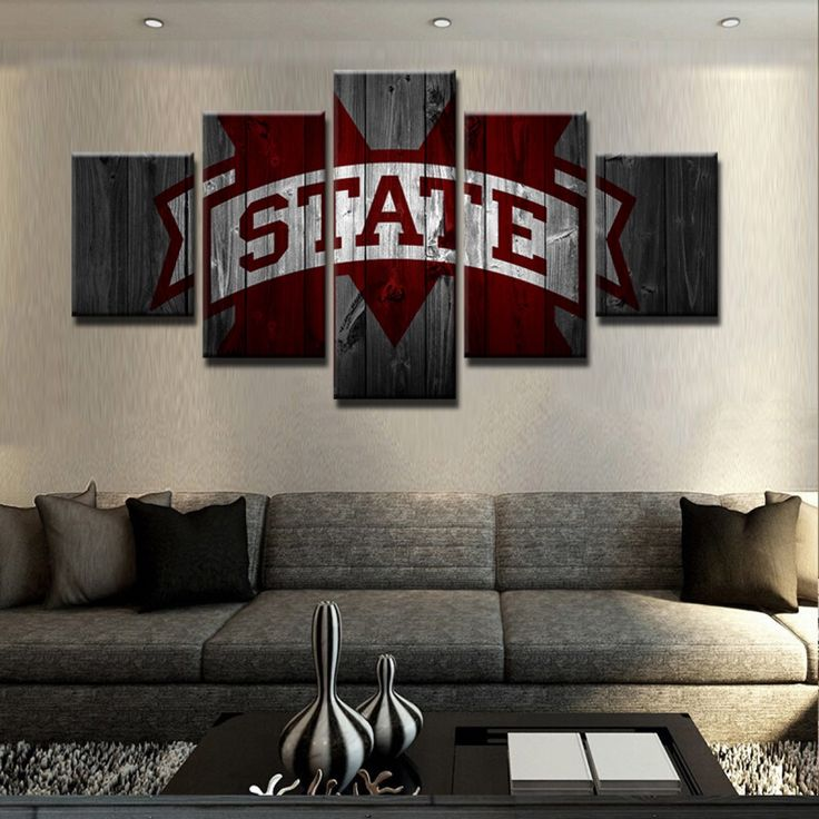 Mississippi State 5 Piece Canvas – Paragon Apparel