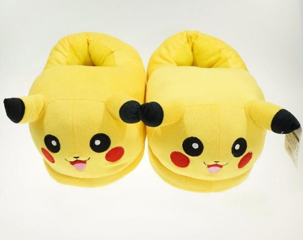Want to wear a comfy slippers from Pokemon with an  Pikachu design? This is perfect for any Pokemon Collectors! While Supplies Last! Limit 10 Per Order Please a