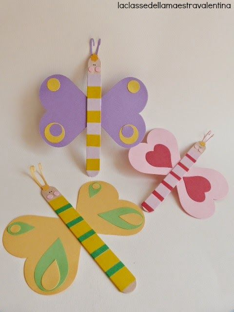 Mariposas con washi tape