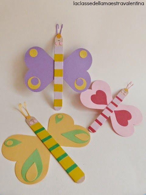 Mariposas con washi tape