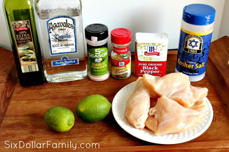 Grilled Tequila Lime Chicken Recipe - Looking for an awesome new chicken recipe/ This grilled tequila lime chicken recipe is just what you're looking for! Made with a homemade tequila marinade, it's sure to become your new favorite!