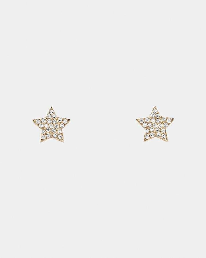 f6573b880748a A diamond stud earring is made up of just one completely cut diamond ...