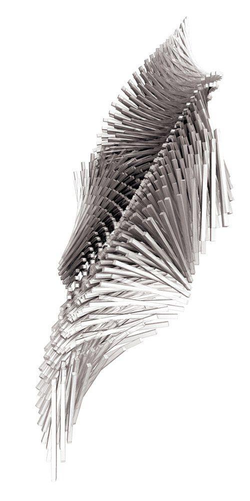 Sequential Transformation - Mel + 3ds MAX #Parametric #Design