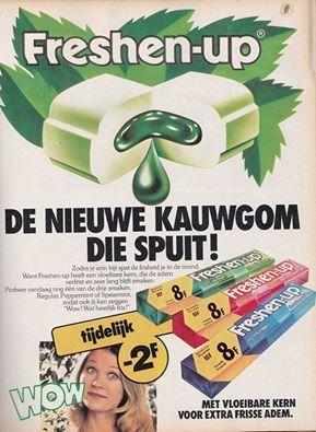 Afbeeldingsresultaat voor kauwgom van vroeger