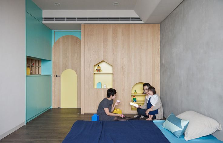 HAO-Design-Blue-and-Green-Apartment-15 - Design Milk