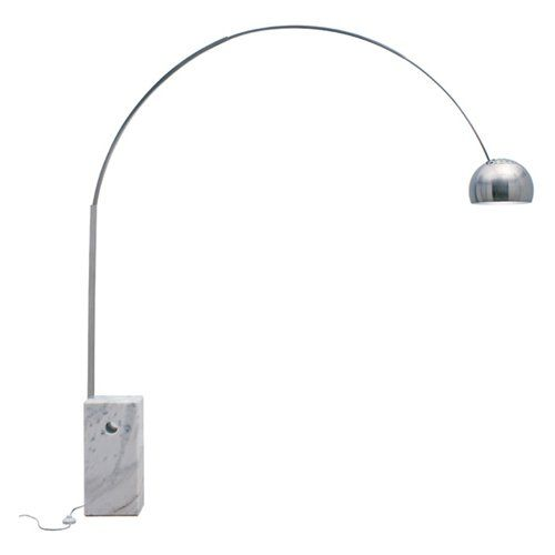 Nuevo HGMT100 Cora White Floor Lamp | from hayneedle.com