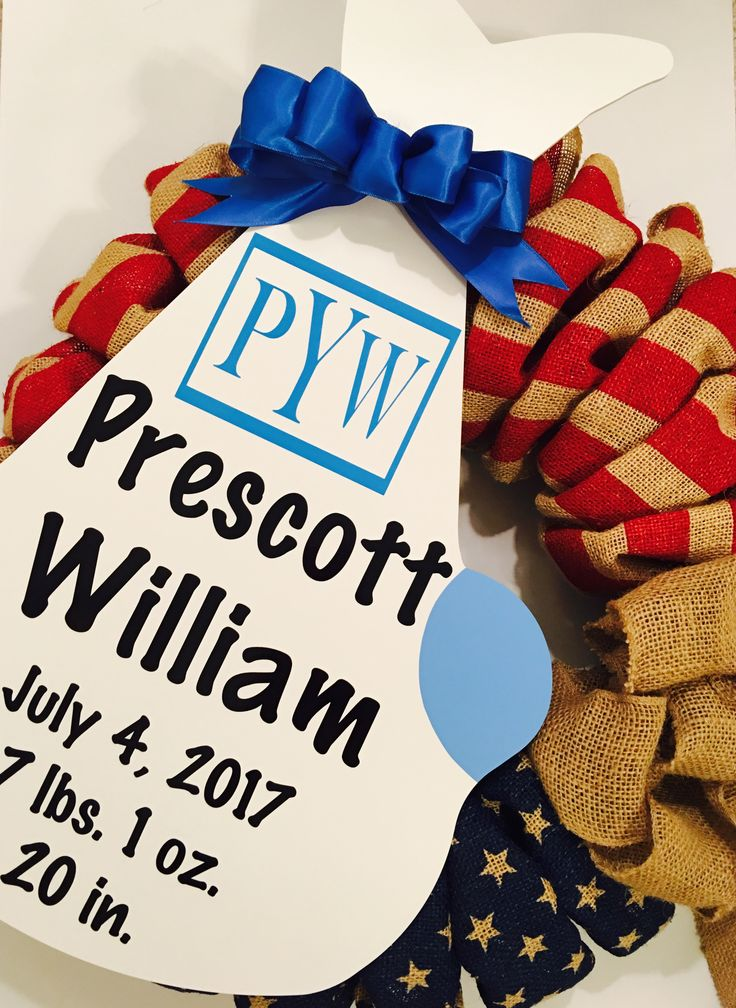 It's a 4th of July baby! Happy Birthday Prescott William! Storks & More of Dallas and Abilene Dallas (214) 923-1569 Abilene (325) 733-7300