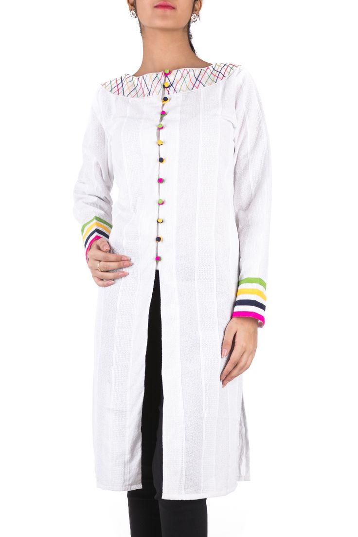 Get best price Formal Kurtis from Hakoba. http://www.hakoba.in