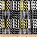 Kanvas What's The Buzz Buzz Words Black