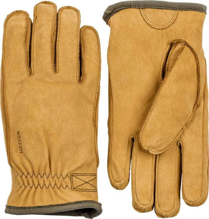 3d5449ab Warm and robust glove made of goat nubuck with a soft boa fleece ...