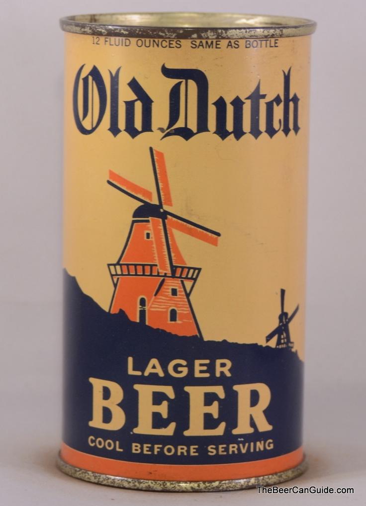 Old Dutch lager beer