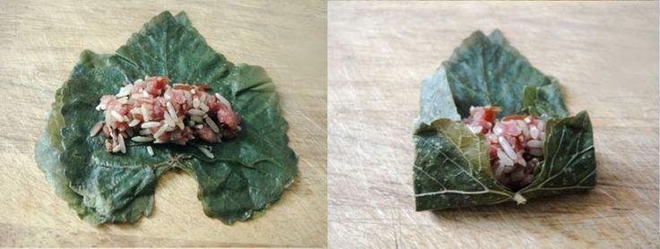 Relleno para hojas de parra (Warak Inab o Warak Dawali ) con carne – Recetas Arabes | Recetas de Cocina Arabe