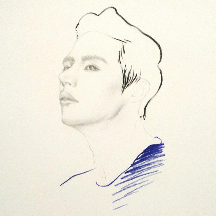 Leesoohyuk illustration by Sookie Shen