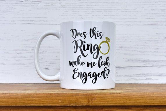 Future Mrs Mug, Engagement Gifts, Engagement Mug, Engagement Idea, Bride To Be, Engagement gift for her, Newly Engaged, Engagement Mug Gift