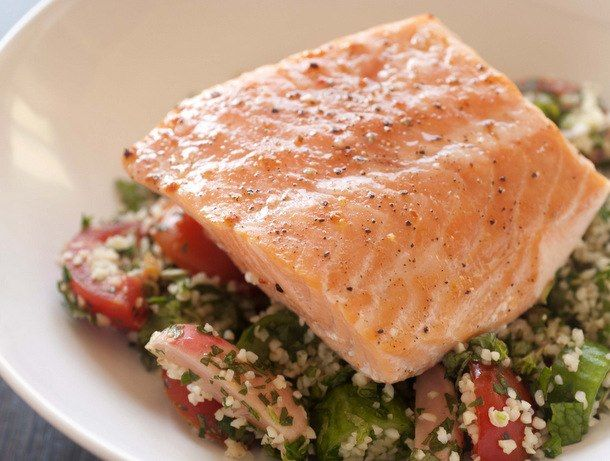 Easy slow-baked salmon filet from Joanne Chang's 'Flour Too' #recipe #fish