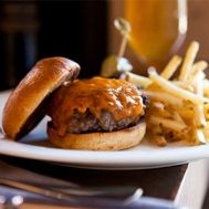 Masami Ranch Burger at Lucy's Restaurant & Bar, Yountville, CA