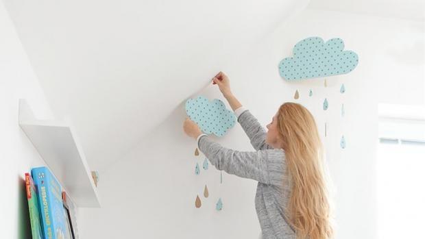 Proměna: Dětský pokoj jako v oblacích