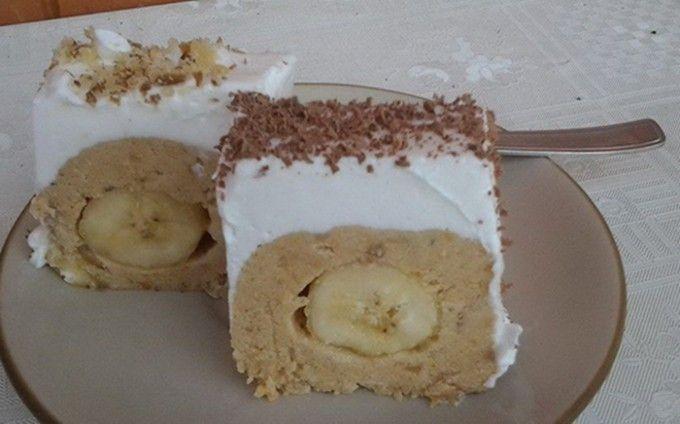 Nepečený banánový tunel | NejRecept.cz
