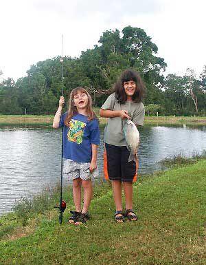 Fishing on the Tarzali Lakes | Atherton Tablelands | Queensland | Australia