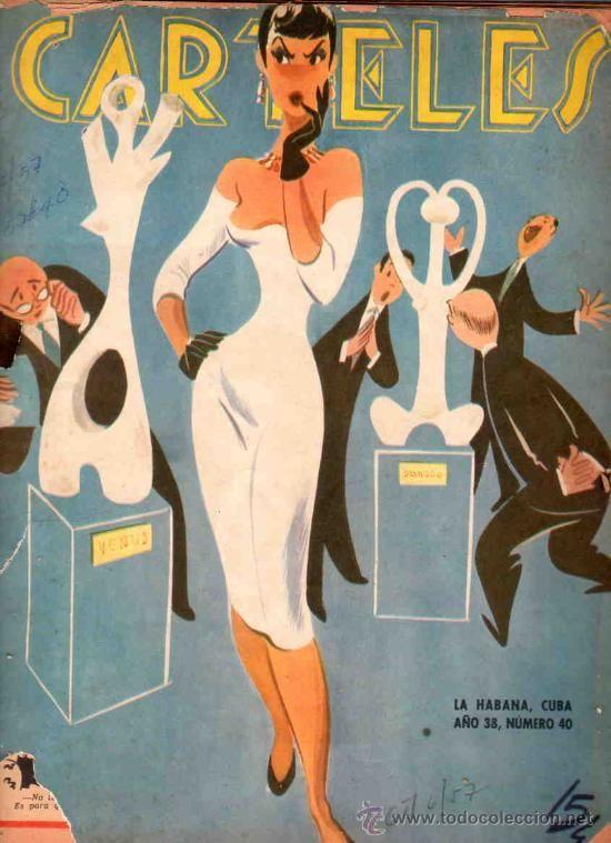 REVISTA CARTELES. CUBA. 1957. Nº 40. KHRUSCHEV, PARIS, PUERTO SAN JUAN DE LUZ, AURORA BOREAL...