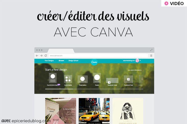 Tutoriel de prise en main du logiciel en ligne et gratuit Canva. Une bonne alternative à #photoshop!