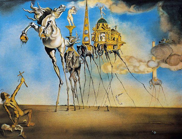 La tentazione di Sant'Antonio. Analisi e storia del celebre quadro di Salvador Dalì