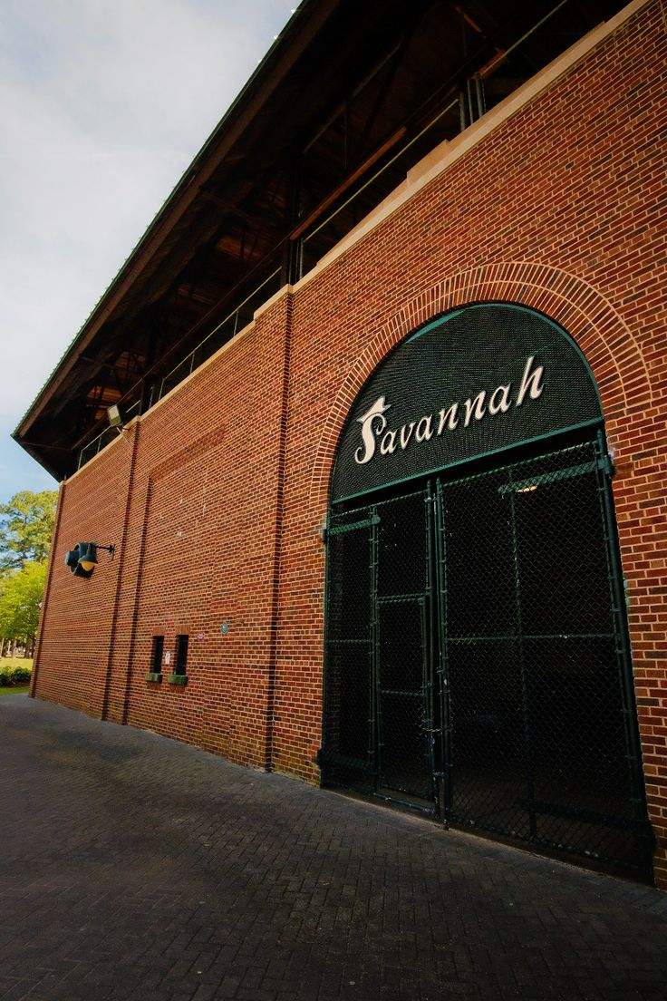 Grayson Stadium, home to the new baseball team, the Savannah Bananas!