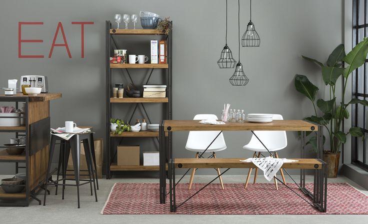 Industrial Modern: the Cetta dining range #structubefw15 http://bit.ly/1KU1rFa
