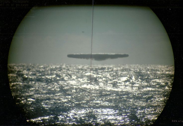 """Apparently the USS Trepang was conducting weapons tests under the ice in 1977 between iceland and jan mayan in the atlantic. The Submarine came upon the object by """"accident,"""" as they were in the region on a routine joint military and scientific expedition."""