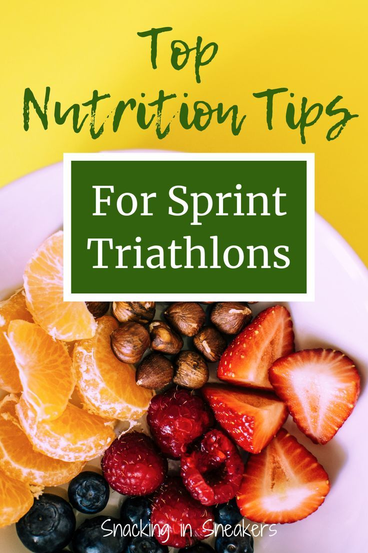 Are You In The Middle Of Triathlon Training For A Sprint Distance Race Read Up On These Top Sports Nutrition Tips That Nutrition Nutrition Tips Workout Food