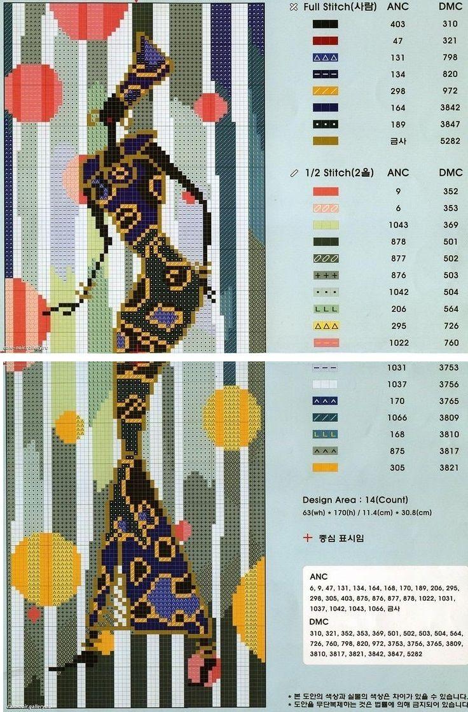 0 point de croix femme africaine - cross stitch african lady