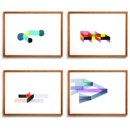 Ronan+Bouroullec+Limited+Edition+Prints:+Set+of+4