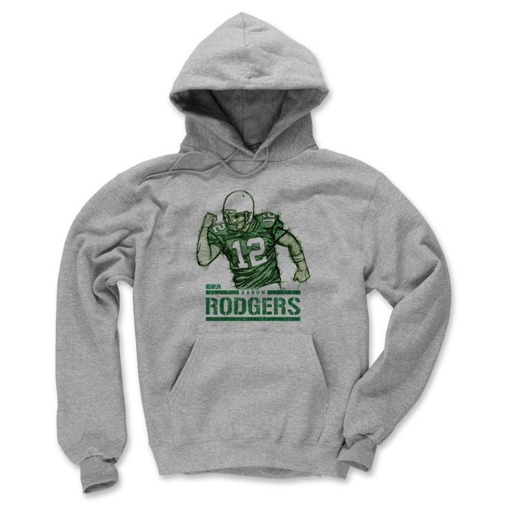 Men's Aaron Rodgers Fist Pump G Hoodie from 500 LEVEL. This Aaron Rodgers Hoodie comes in multiple sizes and colors.