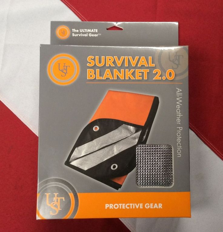 Survival blanket 2.0 protective gear bugoutbag disaster camp prepper GIFT UST  #UST